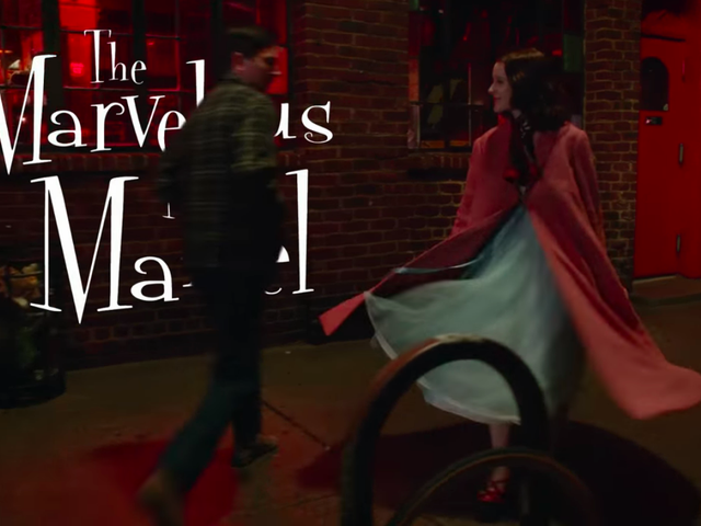The Marvelous Mrs. Maisel combines Gilmore Girls with Mad Men in new trailer