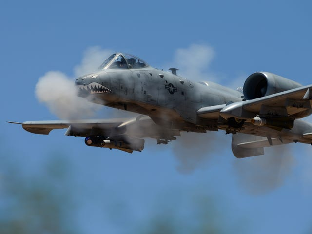 The A-10 Warthog Is Sporting New Wings To Stay In Service Through The 2030s