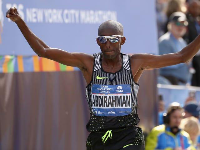 Boston's Weather Broke Scores Of Elite Runners, But Not Old Man Abdi Abdirahman