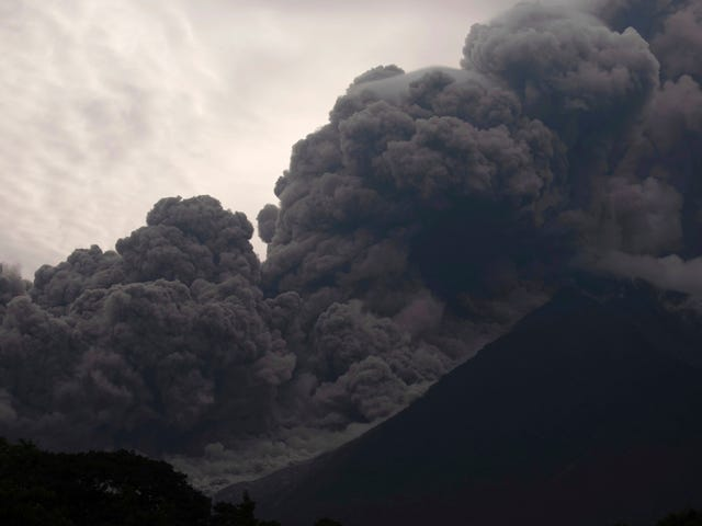 Eruption of Fuego Volcano in Guatemala Kills Dozens