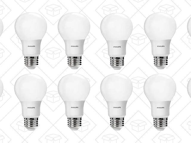 Aggiorna una lampadina a dieci a LED Per $ 22