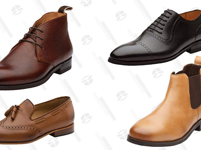 This Gold Box Is Full of Leather Dress Shoes for Under $100