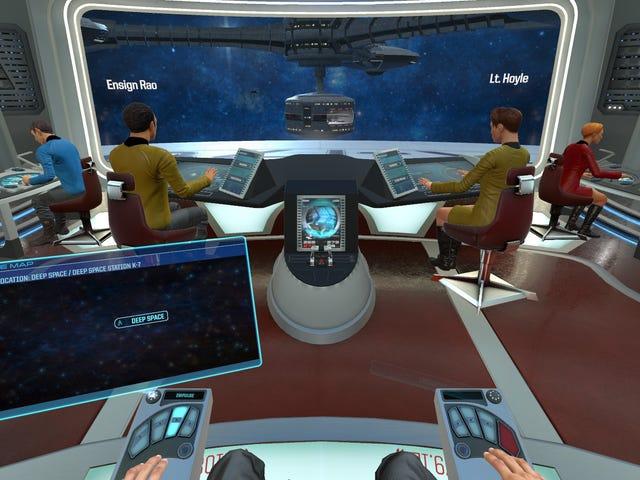 ความเป็นจริงเสมือนเพิ่งสูญเสียเอกสิทธิ์ใหญ่ ๆ  Ubisoft ข้ามแพลตฟอร์มดาวจำลองจำลอง Star Trek Bridge ลูกเรือหนึ่งของฉัน ...