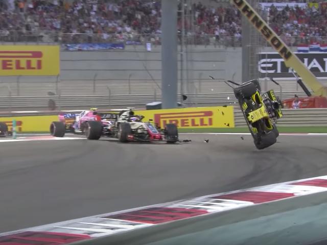 F1 Halo svarte ikke svak respons på Fiery Crash i Abu Dhabi