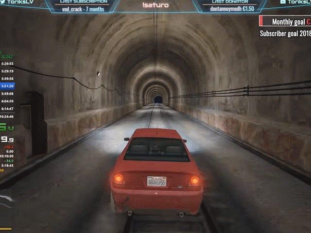 <i>GTA V</i>世界纪录Speedrun是一个艰苦,迷人的十小时