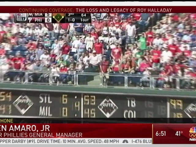 NBC Philadelphia Airs Roy Halladay Tribute Video Of Him Giving Up A Bunch Of Homers