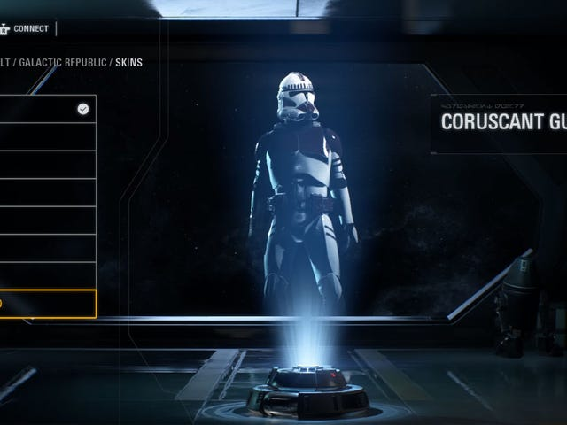 Hidden Character Customization Menu Found In Star Wars: Battlefront II