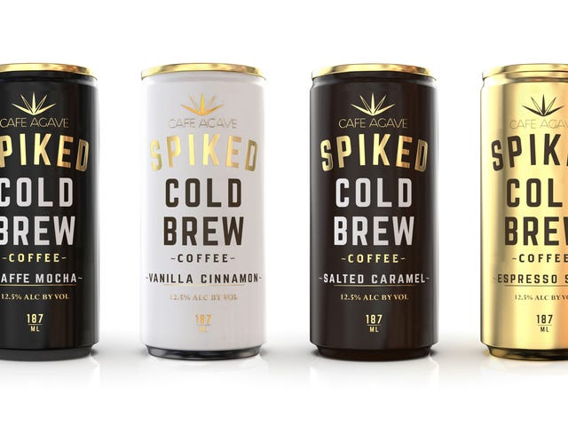 Spiked cold brew delivers wine'sABV with coffee'sbuzz