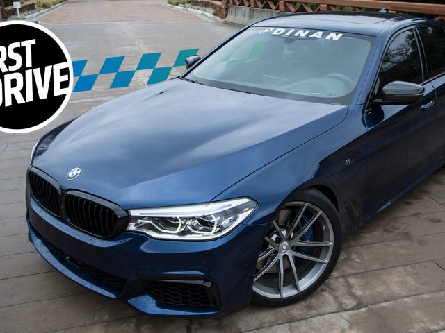 Here's What A BMW 5 Series Can Do With $14,000 In Dinan Upgrades