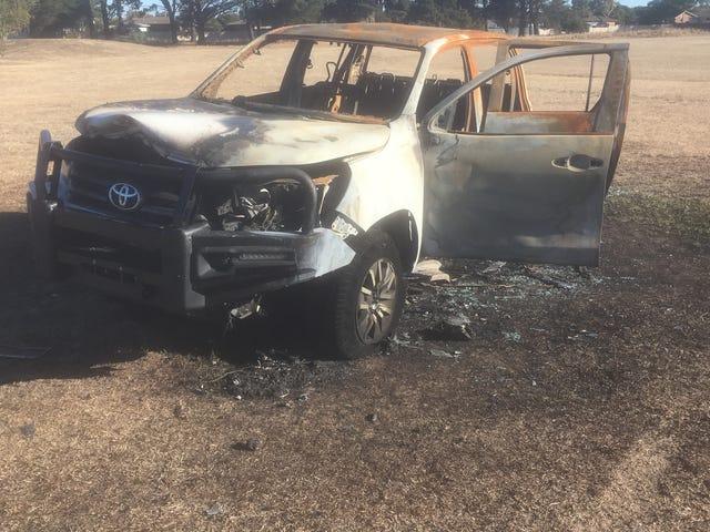 nikomu nie wypalił Toyoty HiLux?