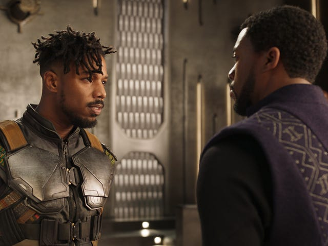 The Black Panther Director's Commentary Reveals the Sad Fate of Killmonger's Mother