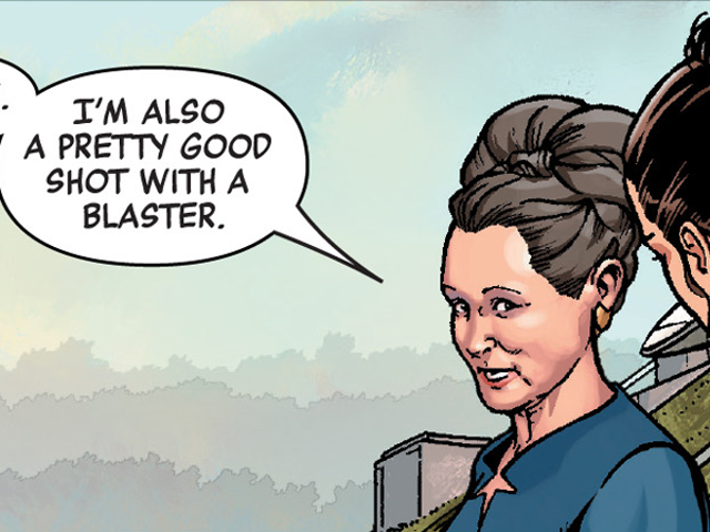 Leia Organa's Secret Weapon Is What Binds the Women of This Week's Star Wars Comics Together