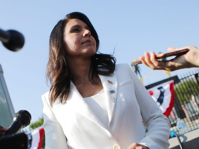 Tulsi Gabbard's PR Stunt Thrown Out By Federal Judge