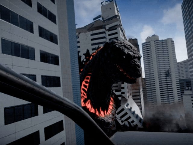 Godzilla Getting A VR Game In Japan