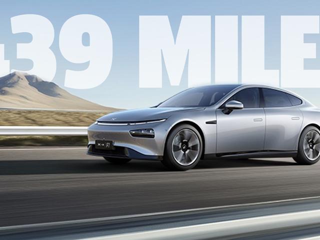 Slick Nhìn Trung Quốc EV Xpeng P7 tuyên bố phạm vi dài hơn so với mô hình 3 Tesla
