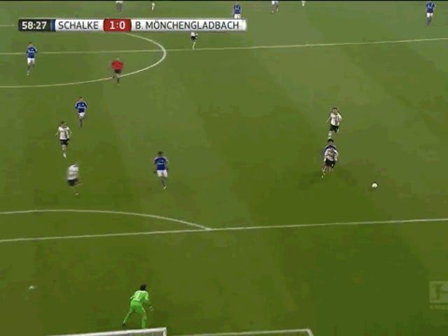 Εδώ είναι Borussia Mönchengladbach με ένα μεγάλο κομμάτι της ανικανότητας του ίδιου στόχου