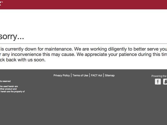 Equifax tar webbsida som rapporteras skötad Adware Offline [Uppdaterad]
