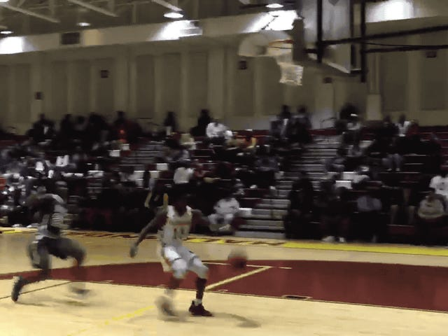 Superpowered High Schooler Annihilates A Layup