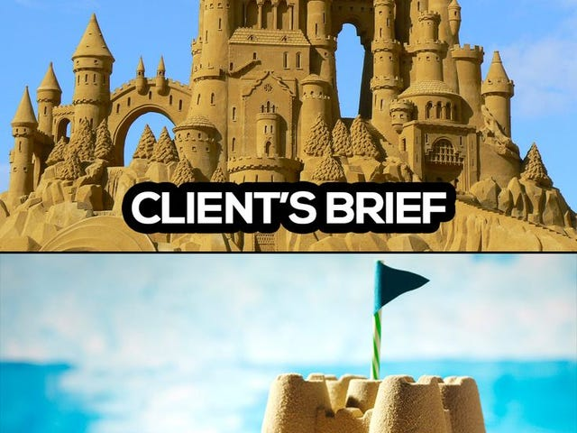 Client budget vs reality