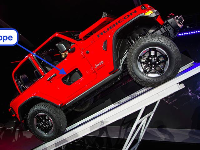 Las medias puertas de 'Donut' de Jeep Wrangler JL en realidad no están sucediendo