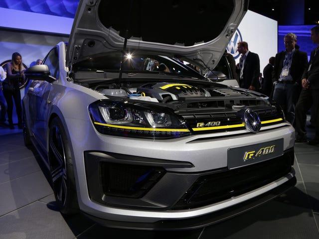 De 395 Horsepower Volkswagen Golf R400 Is Dead