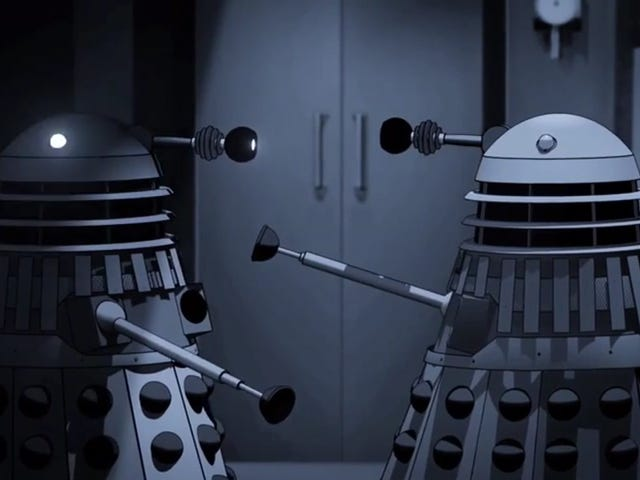 Power of the Daleks to be animated and released on DVD! [Update: Maybe not...] Update x2: HELL YES, IT IS!