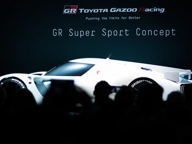 Ligner Toyota bare bragt tilbage GT1