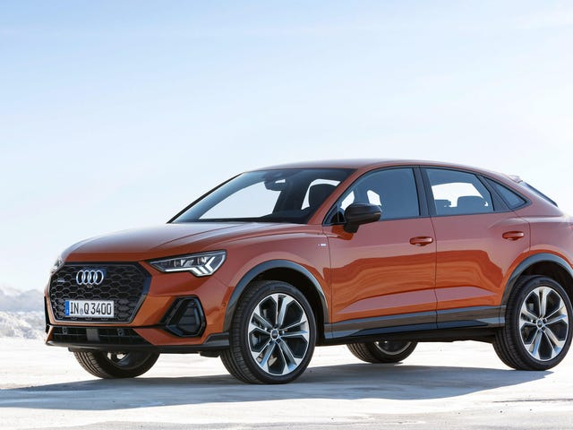 The 2020 Audi Q3 Sportback Brings a Chopped Roof and Not Much Else