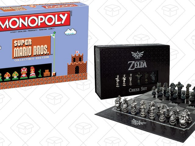Nintendo Can Take Over Your Board Game Cabinet For 20% Off