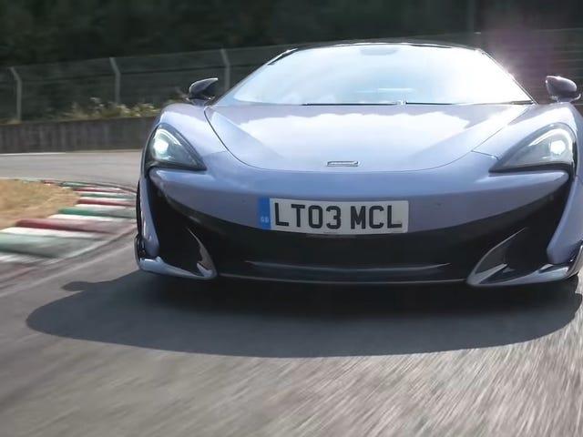 McLaren 600LT ein gutes Auto, sagt Chris Harris