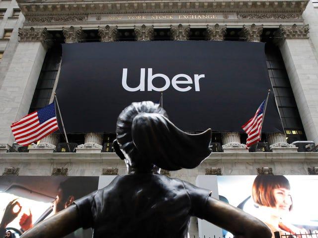 Uber hævder, at det er undtaget fra Californiens lov om gigøkonomi, fordi det er en 'platform', ikke et taxiselskab