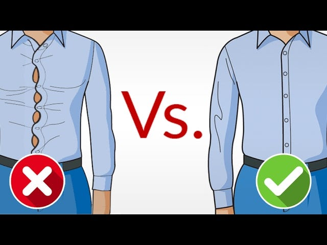 A Video Guide to Help You Find the Perfect Fitting Dress Shirt Every Time