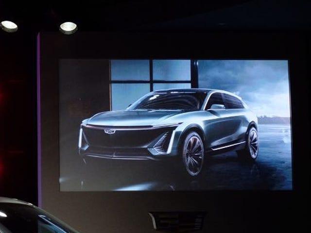 Cadillacs første elbil vil være denne crossover