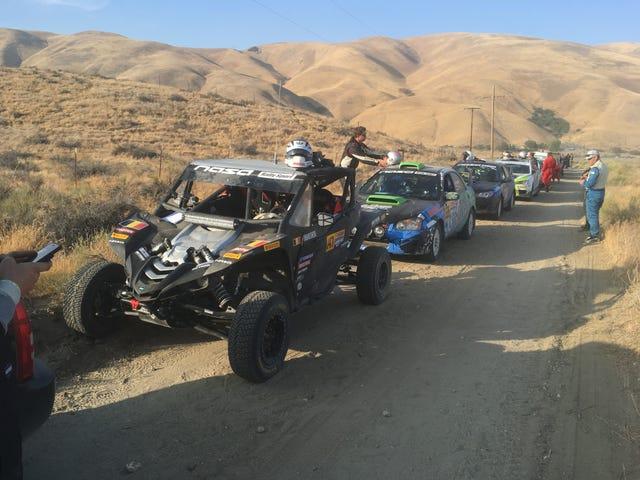 We won Gorman Ridge Rally