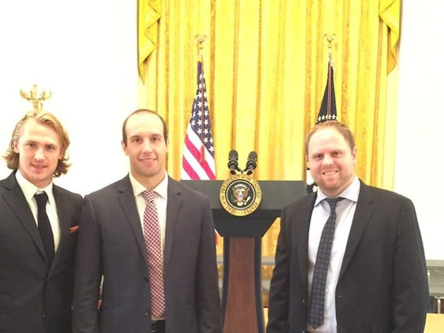 They Let Phil Kessel Visit The White House