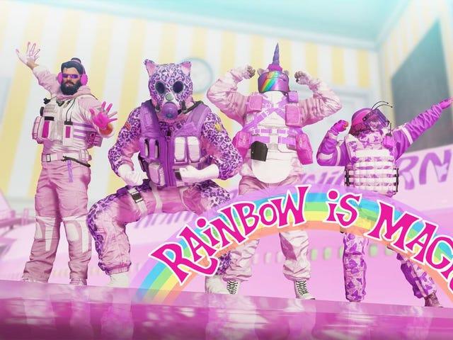<i>Rainbow Six Siege</i> 의 &#39;무지개는 마법인가&#39;는 투쟁 농담 이상이다.