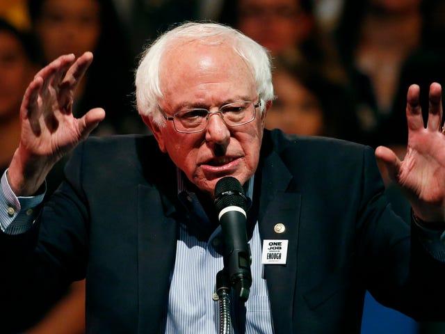 Bernie's Running Again