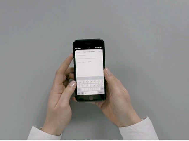 Это решение для многозадачности для телефона - это либо гений, либо полностью абсурд
