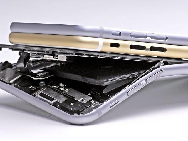 Apple sabía que el iPhone 6 podía doblarse antes de lanzarlo, pero no lo arregló hasta un año y medio después