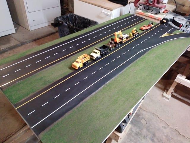 Highway diorama update