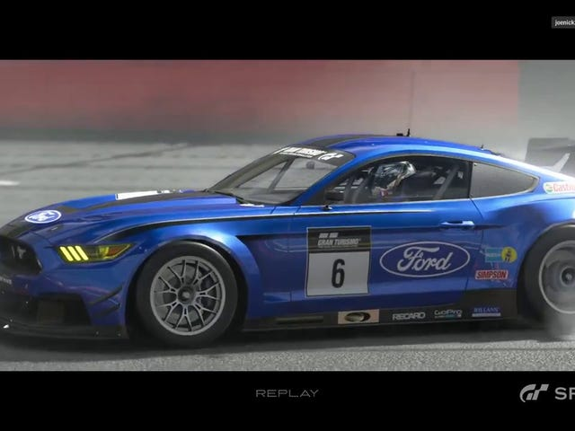 The GT3-like Ford Mustang racer on GT Sport and MARC Cars' Ford Mustang...