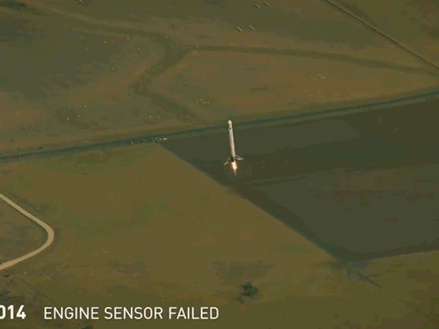 Elon Musk发布了他最大的火箭故障的爆炸性大集合