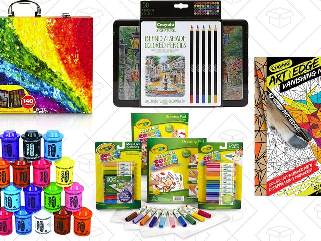 Find Your Creative Side With Amazon's One-Day Crayola Sale