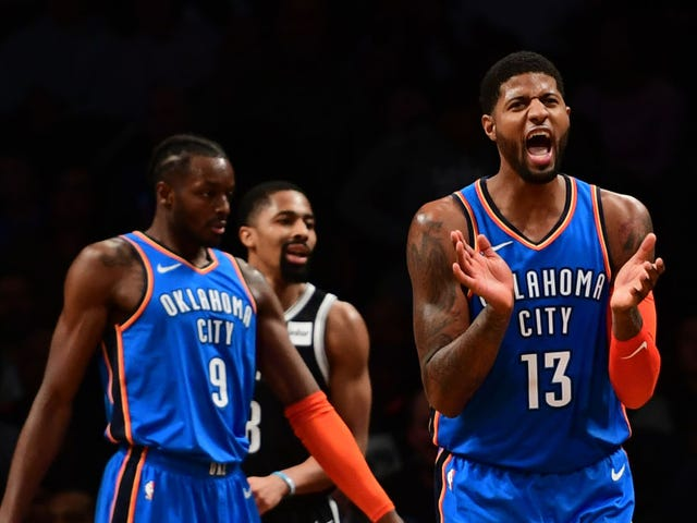 Paul George Led A Wild Comeback Against The Sorry-Ass Nets