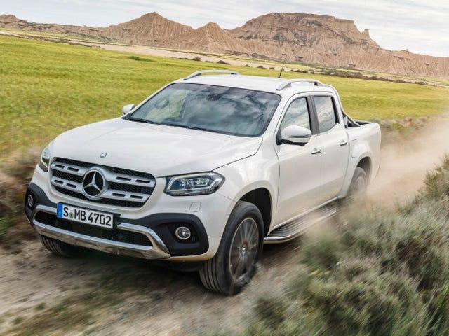 Mercedes-Benz X-Class Pickup Dead Already: Report
