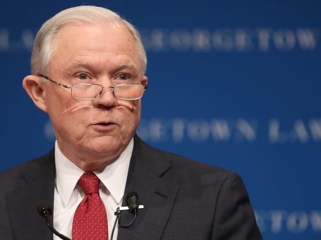 Οι Jeff Sessions πιστεύουν ότι οι Τρανσεξουαλικοί Άνθρωποι δεν μπορούν να πέσουν θύματα σεξουαλικών διακρίσεων και, συνεπώς, είναι άξιοι πολιτικών δικαιωμάτων ...