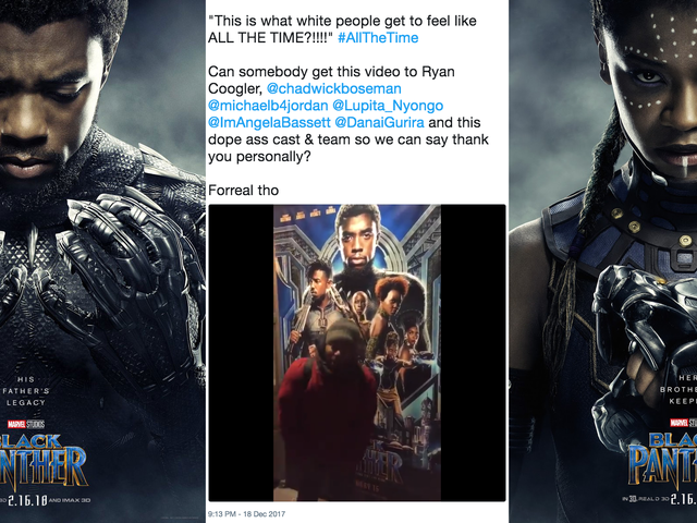 The Internet's Favorite <i>Black Panther</i> Fans Talk About Finally Going to Wakanda