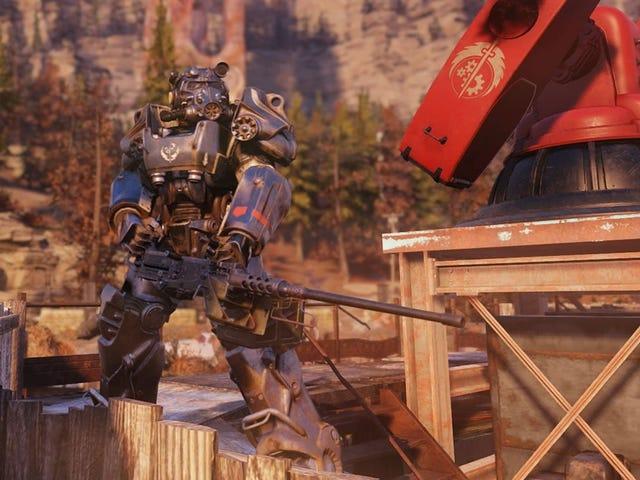La semaine en jeux: Fallout 76 prend la route de campagne à vapeur