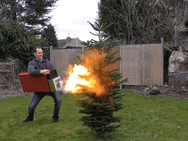 Absurdly Super-Sized Lighter Makes Playing With Fire Extra Fun and Even More Dangerous