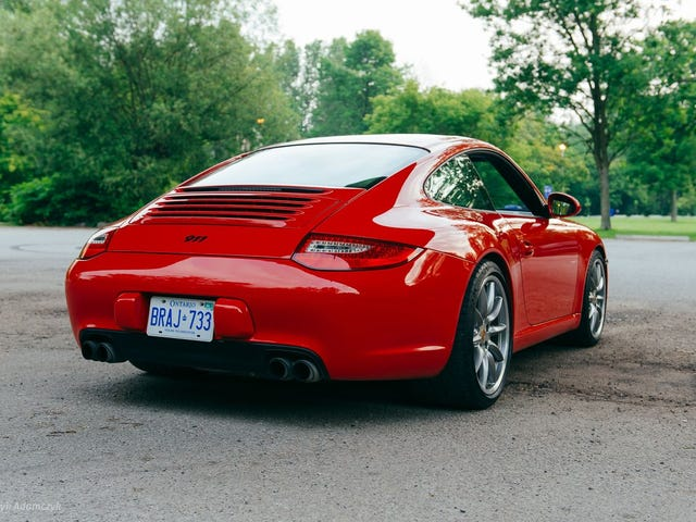 Hot sports opinion: the 997.2 rear end is the fried-egg headlight of 911 rear ends